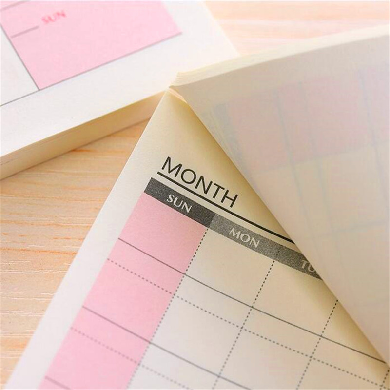 YOUE SHONE 1Pcs/lots Hot new products can be torn office to do things memorandum of work desk notes note book book