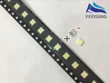 50PCS FOR LCD TV repair LG led TV backlight strip lights with light-emitting diode 3535 SMD LED beads 6V(China)