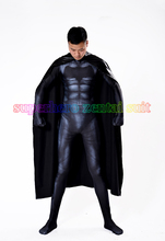 2017 Newest Batman Costume 3D Printing Spandex Lycra FullBody Batman Superhero Costume Zentai Suit For Adult/Kids Free Shipping