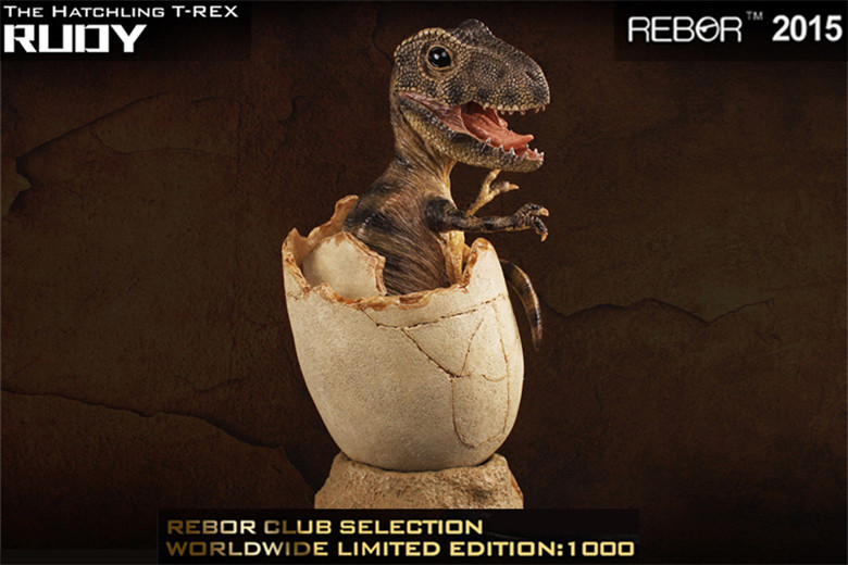 REBOR The Hatchling TREX RUDY Statue Global Exclusive Limited Edition(China)