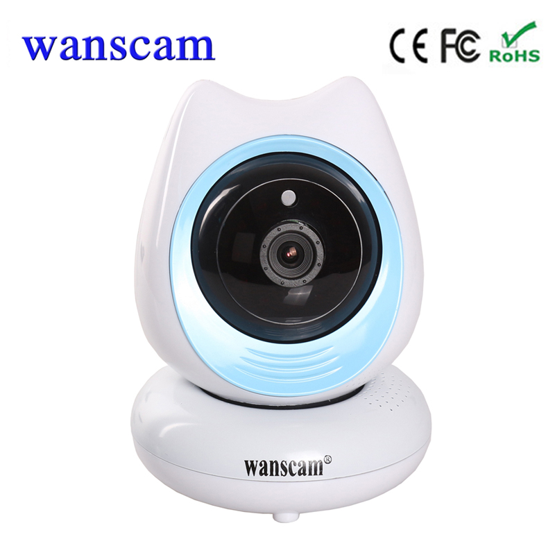 Wanscam  P2P Pan/Tilt  Home Mini Wifi CCTV Camera Wireless  Support 128G TF card P2P Free Shipping<br>