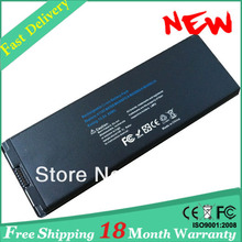 "A1185 battery MA566 battey for Macbook 13"" 10.8V 59Wh Black free shipping"