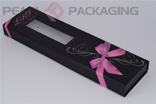 Hair Extension Packaging Box, Personalized Custom Hair Extension Box for Small Vendors, Low Minimum Order Quantity(China)