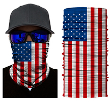 Green Skull Magic Head Face Mask Multi Wear Tube Bandana Durag Biker Motorcycle Scarf(China)