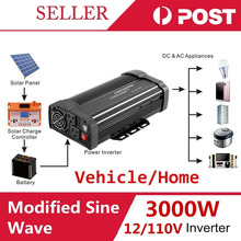 Max 6000W Car Vehicle USB DC 12V to AC 110V Power Inverter Adapter Converter(China)