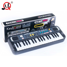 37 Keys Kids Digital Music Electronic Keyboard Electric Piano Gift Key Board Musical Toys Educational Toys Piano Toys For Child(China)