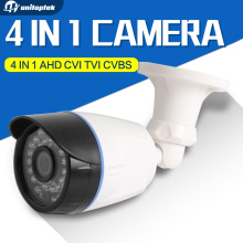 4 In 1 CVI TVI AHD Camera 720P 1080P CCTV Bullet Camera CVBS Waterproof 3.6mm Lens CMOS 2000TVL Security Camera With OSD Menu