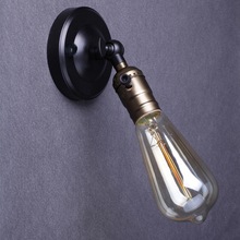 Antique Industrial Lighting Edison Wall Sconces Vintage Wall Light Loft Retro Wall Lamp Metal Mini Wall Lighting Decoration Lamp(China)