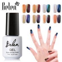 BelenGel 7ml Chameleon Varnish 3D Colorful Phantom Nail Gel Chameleon Gel Manicure UV Gel Color Polishes Color Changing Lacquer