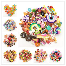 lets start! resin cake,Bread,doughnuts,flat vegetables&fruits,kawaii food flatback Cabochons for phone decoration.scrapbooking(China)