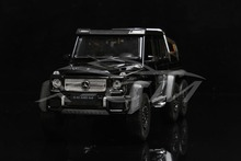 Diecast Car Model Welly FX Models G63 AMG 6x6 1:24 (Black) + SMALL GIFT!!!