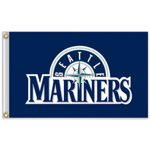 Seattle Mariners Major League Baseball MLB Pennant USA 90 * 150cm free shipping 100D sports decoration