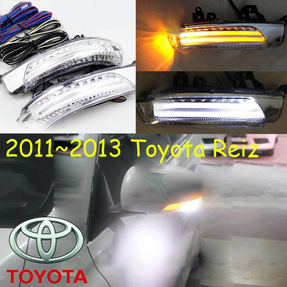 car-styling,Reiz Mirror light,2010~2013,Free ship!2pcs,Reiz fog light;car-covers,chrome,Reiz turn light; Mark X,MarkX<br><br>Aliexpress