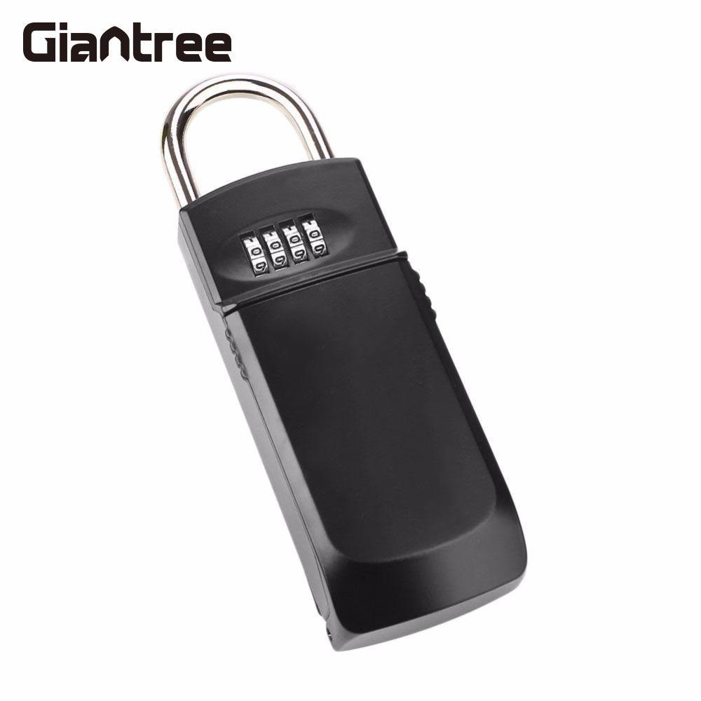 giantree Four Password Safety Key Security Home Metal Alloy Safe Box Storage Money Cash KS007 Safe Box<br>