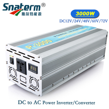 P-3000 3KW/3000W (Peak 6000w) Solar off grid Power Inverter DC 12V/24V/48V/60V/72V to AC 220V 230V 240V Modified Wave Converter