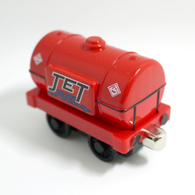 x59 Thomas and friends jet fuel tanker Diecast Metal magnetic  children Track Toys-  red tank truck