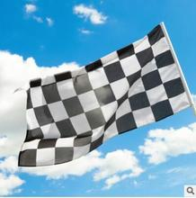 90 * 150F1 Racing Checkered Flag Fourth Polyester Flag Show Off Your Patriotism Package Content: 1Pc