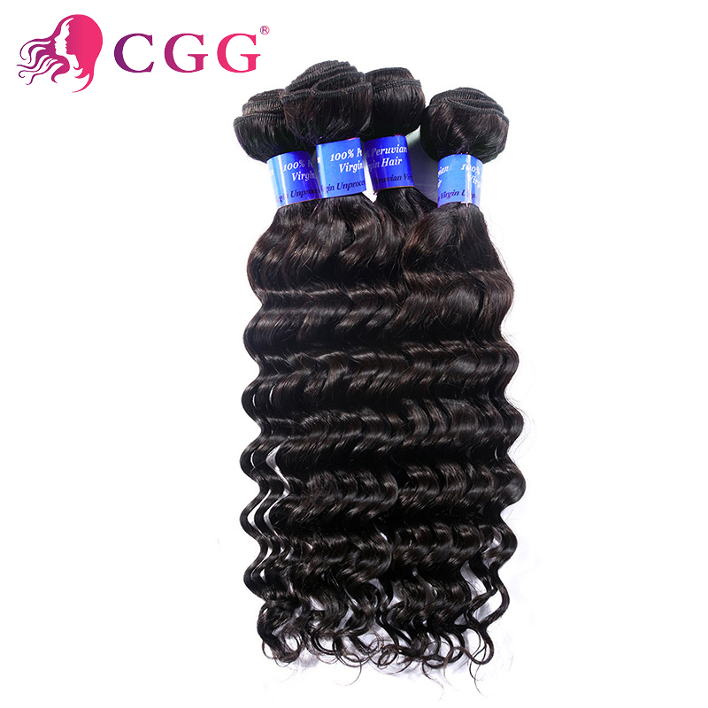 Peruvian Human Hair Weaves 10PcsLot Wholesale Peruvian Deep Curly hair 7A Unprocessed Peruvian Deep Wave Hair Extension CGG Hair<br><br>Aliexpress