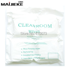 "360PCS/Bag Top Quality LCD Screen Soft 4""X4"" Cleanroom wiper cleaning Non Dust Cloth Dust Free for Class 1-10000 Clean Rooms(China)"