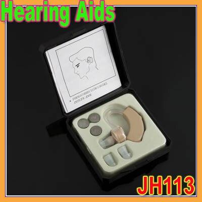 Wholesale 1pcs Best ear Sound Amplifier Volume Adjustable Tone Hear Hearing Aids Aid<br><br>Aliexpress