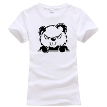 Only4U Create Shirts Women'S Bad Teddy O-Neck Shirt(China)
