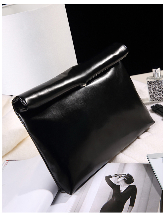 Oil Leather Clutch Bag Women Cheap Handbags Korean Candy Color Ladies Hand bags Luxury Party Evening Bag Big Envelope Clutchs<br><br>Aliexpress