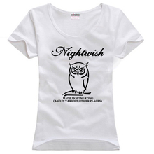 Nightwish Made In Hong Kong And Various Other Places couple clothes woman cotton T-shirt