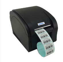 high speed 3~5Inch/Sec USB port sticker printer Barcode Label Printer Thermal barcode printer bar code printer