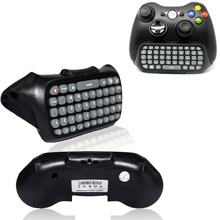 Game Keyboard Keypad ChatPad Wireless Controller Text Messenger W/ Backlight For XBOX 360 Controller Gamepad Black Professional