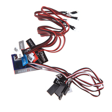 GoolRC New Highlight 12 LED 2CH Flashing Light System for RC Car G.T.POWER Smart PPM/FM/FS 2.4G Part