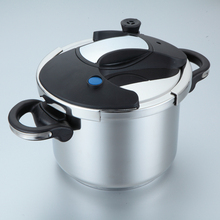 free shipping Pressure cooker stainless steel 22cm with stock pot cookware 5 litre new style pot