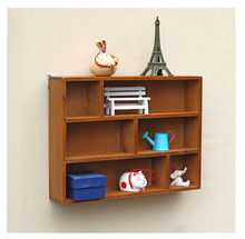 Home Decor Bedroom/Living Room Furniture Vintage Wall Shelf Bookshelf Durable Kitchen Storage Racks Decorations House