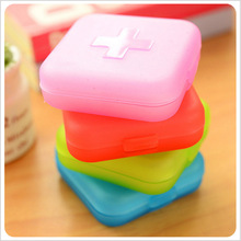 Mini Portable Pill Box Storage Cases Medicine Drug Storage Box Jewelry Beads Organizer Candy Case Container Free Shipping 300(China)
