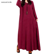 Buy large size 2017 autumn winter mori girl Women clothes long sleeve maxi brand dress winter floor length vestidos flare 50's dress for $15.82 in AliExpress store