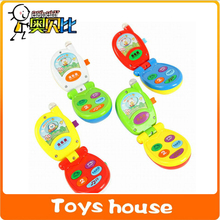 Without packing toy phone electronic toys baby phone toys for kids new year gift mobile musical toys telephone(China)
