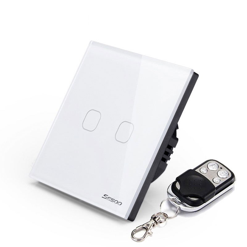 image for EU Wireless 1 2 3 Gang Wifi Light Switch,Smart Home Automation Mobile