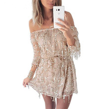Beaded Sequins Appliques Short Prom Dresses Robe De Soiree Knee Length Party Evening Dress