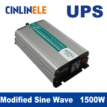 Universal inverter UPS+Charger 1500W Modified Sine Wave Invert CLM1500A DC 12V 24V 48V to AC110V AC220V  1500W Surge Power 3000W