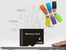 new arrival Micro TF Card Class 10 TF Memory Card super mini T-Flash Transflash gift reader+adapter 2g 4g 8g 16g 32g 64g