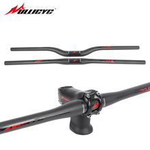 Buy Ullicyc Mountain Bike Flat/Rise Bicycle Handlebar MTB Parts 3K Full Carbon Handlebar 31.8*620/640/660/680/700/720mm CB860 for $18.62 in AliExpress store
