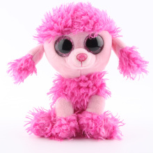 Ty Beanie Boos Original Big Eyes Plush Toy Kawaii Doll Pink Poodle Stuffed Animals