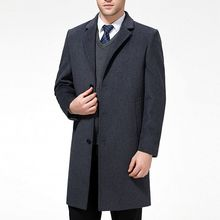 Winter Wool Trench Coat(China)