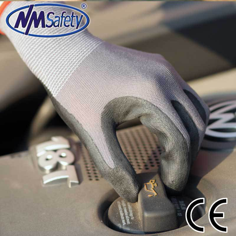 NMSafety 6 pairs super thin foam black nitrile gloves oil-resist working gloves<br><br>Aliexpress