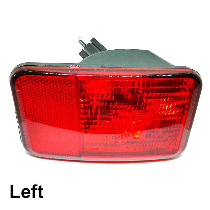Rear Bumper Fog Light for Jeep Wrangler 08-15 Fog Lamp Replacement Foglight Foglamp 1 Piece Without Bulb<br>