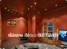 Sample101 for Red Glossy Ceiling Film in Bedroom---PVC Stretch Ceilings in a  Construction Materials and Ceiling Materials