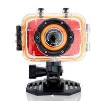 G260  4X Zoom 2'' Touch Screen 1080P HD Waterproof Digital Video Camera For Home and Sports Use.