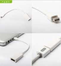 Mini DisplayPort Display Port to HDMI Adapter Cable For Apple Mac Macbook Pro Air High Quality Thunderbolt