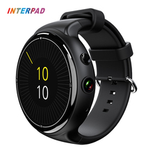 Interpad High Tech Android 5.1 OS Smart Watch i4 Air GPS Wifi 3G Phone Clock Smartwatch 16GB ROM 2GB RAM Support App Download(China)