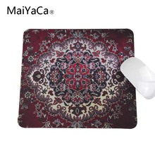 Professional Custom Products Sell Like Hot Cakes Personality Persian Carpet Wheel Mouse Pad 180*220mm 200*250mm or 250*290mm(China)