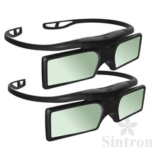 [Sintron] 2X 3D Active Glasses for Panasonic 2015 3D TV TX-40AX630B TX-48AX630B AX SERIES(China)